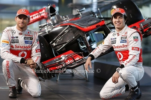 Jenson Button, Sergio Perez & The MP4-28